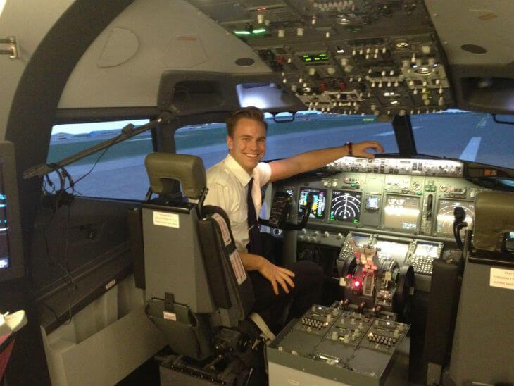 work as a pilot