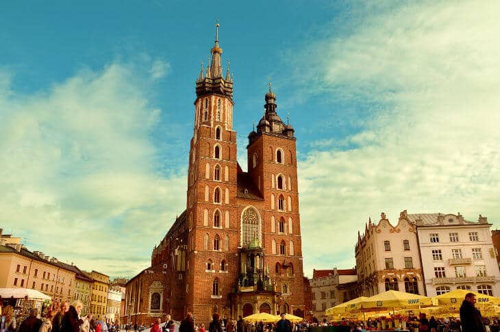krakow places to visit in poland