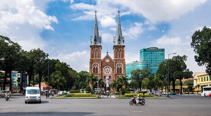 sevärdheter Ho Chi Minh City