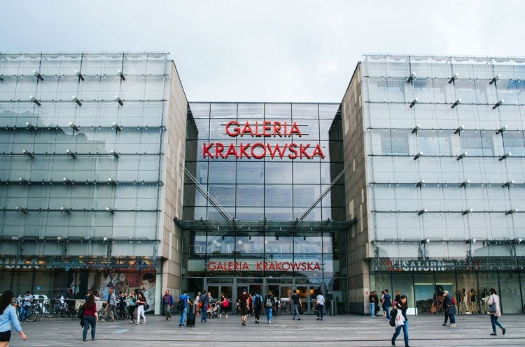 shopping krakow