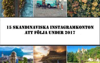 skandinaviska instagramkonton