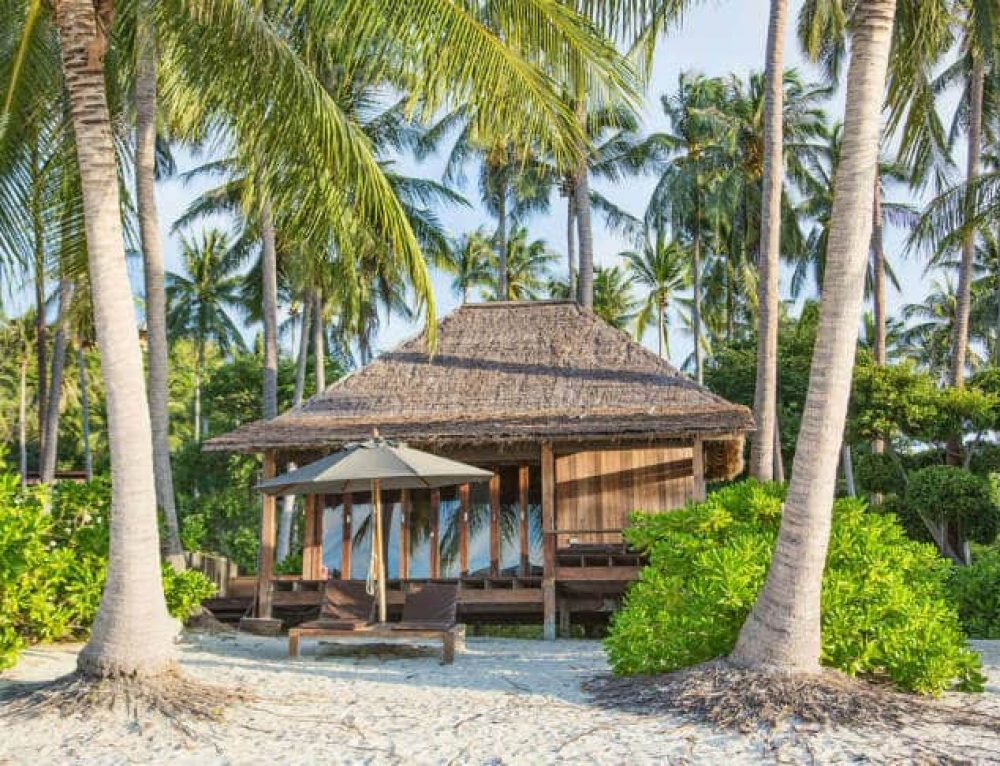 10 Underbara bungalows vid stranden i Thailand