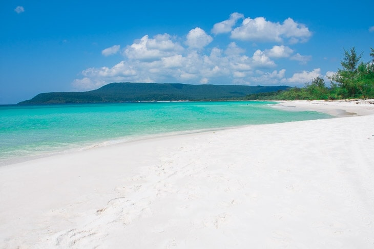 Koh Rong Island Best Beach