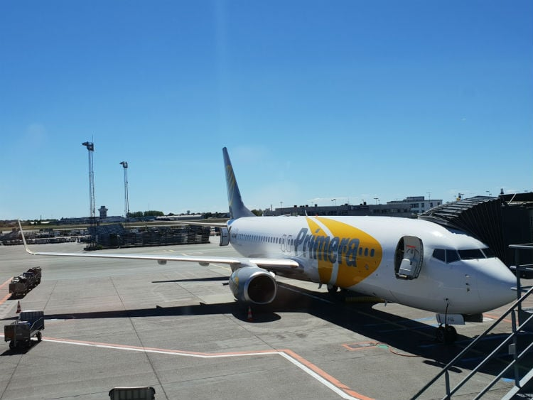 flying with primera air