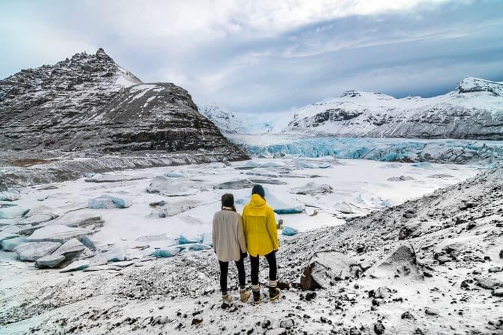 island glaciär