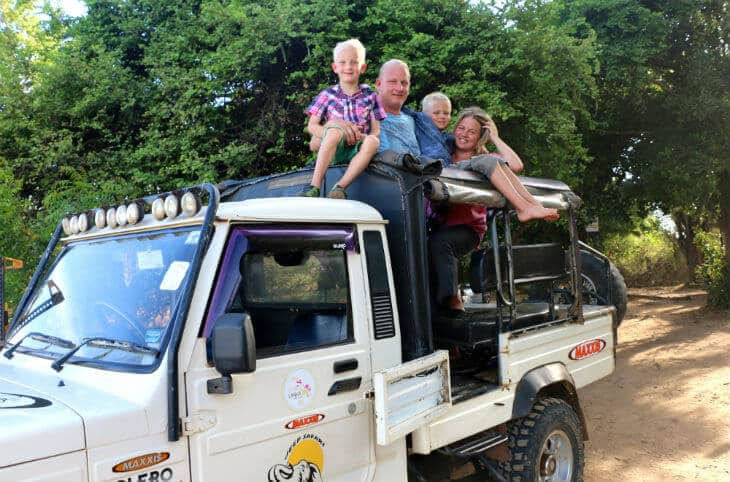 thunberg safari sri lanka