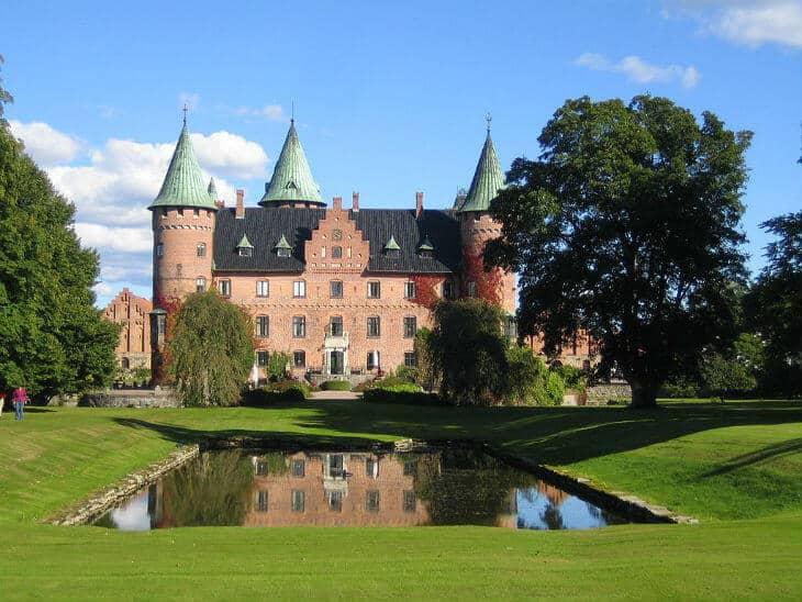 Trolleholm castle in scania