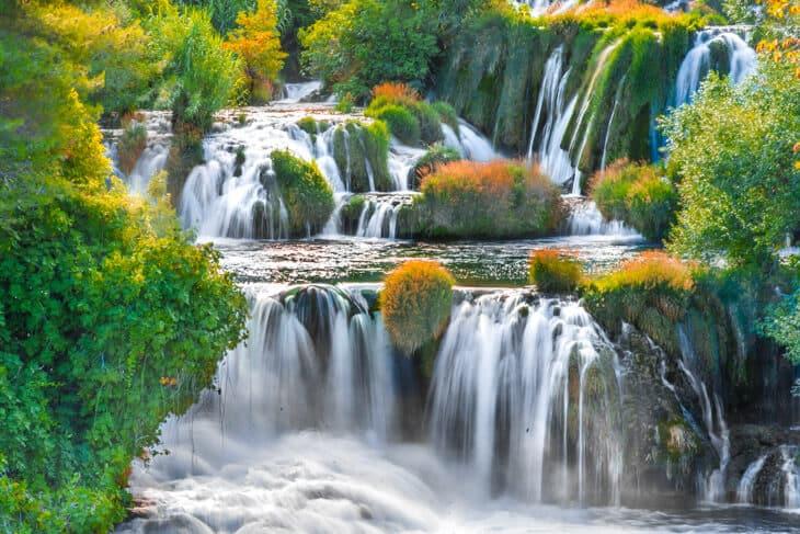 Kroatien vattenfall