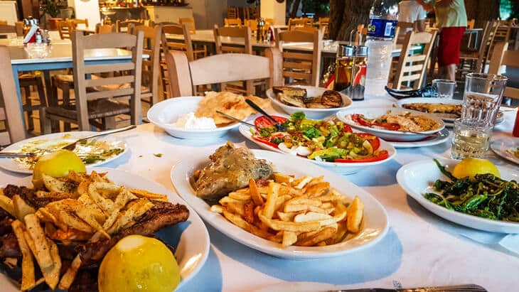 And With That Said I Ve Probably Eaten At 200 300 Restaurants Around The World If You Go To Skyros Must Visit Mouries Tavern