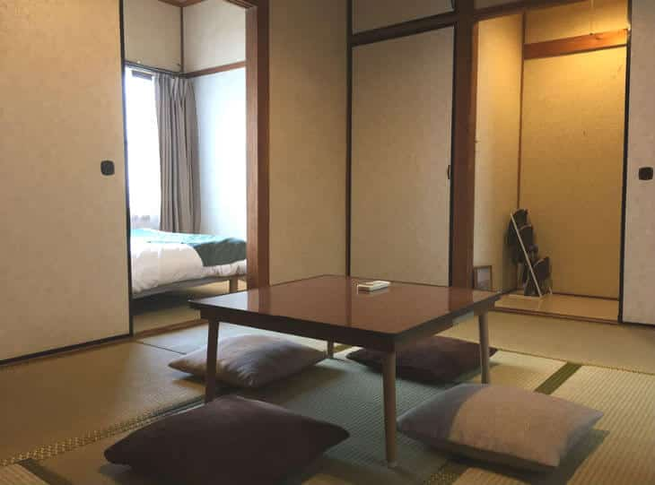 airbnb japan tatami house