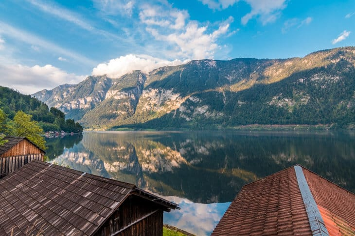 The lake by Hallstatt