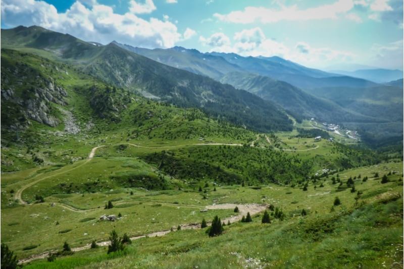 Sharr Mountains