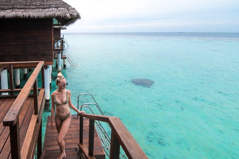 Maafushivaru Island Resort Water Villa