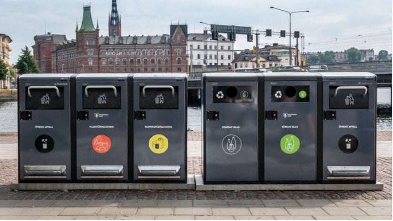 återvinning i Stockholm