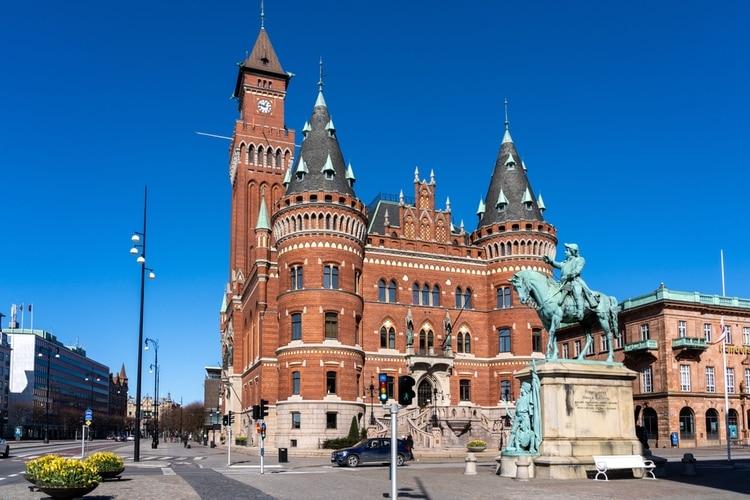 Helsingborg stad i Skåne