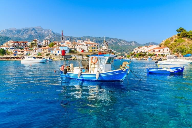 Samos i Grekland