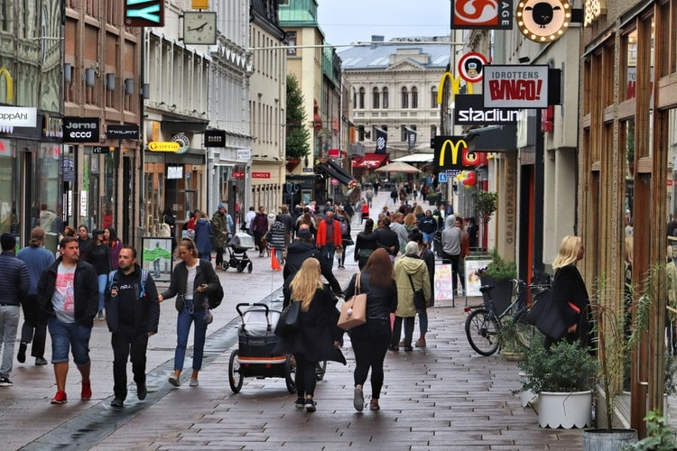 Sveriges näst största stad