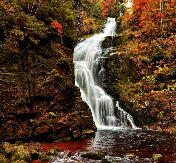 Kamieczyk Waterfall