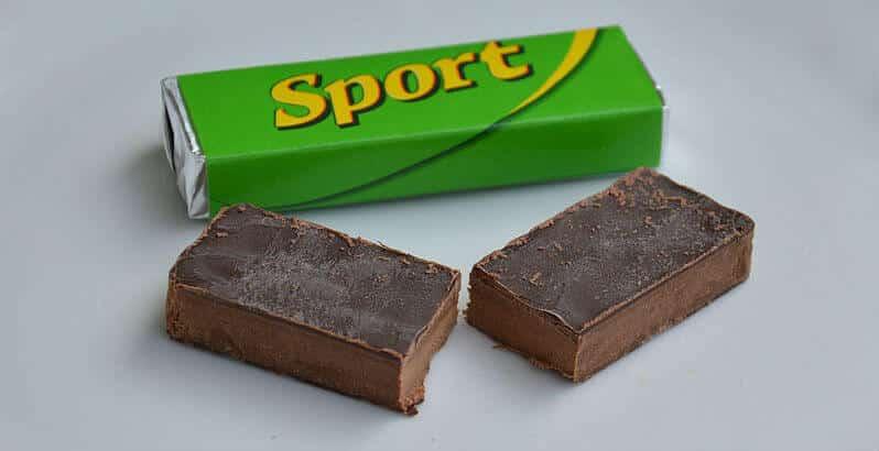 sport chocolate