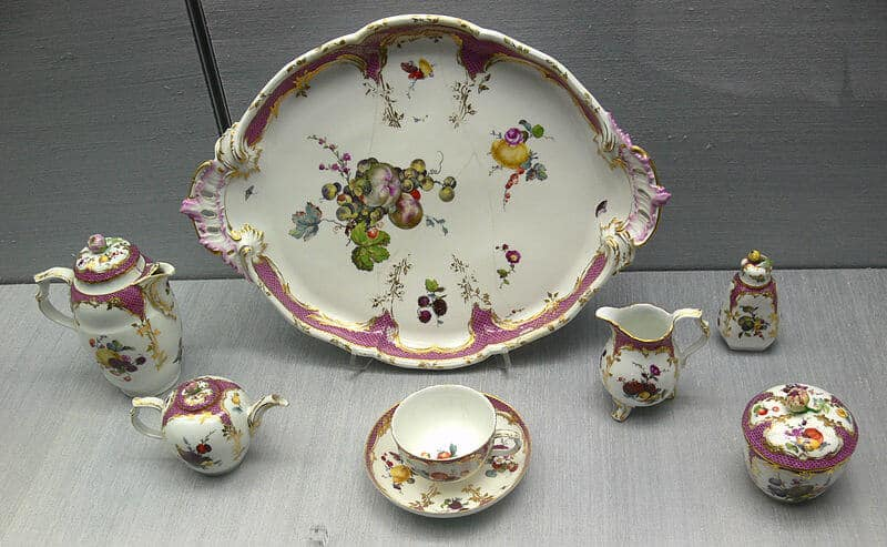 ornate porcelain