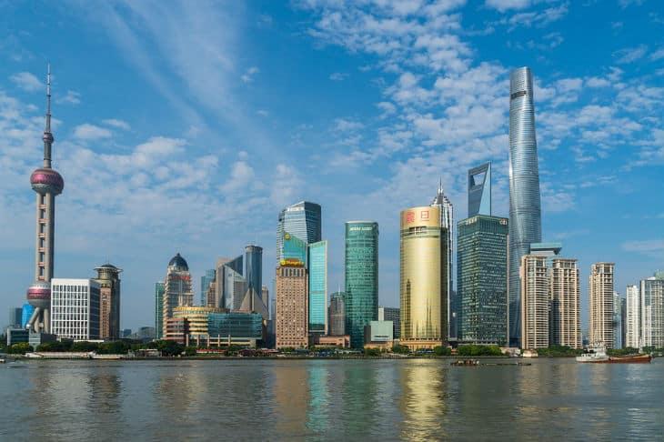 shanghai tower kinas högsta byggnad