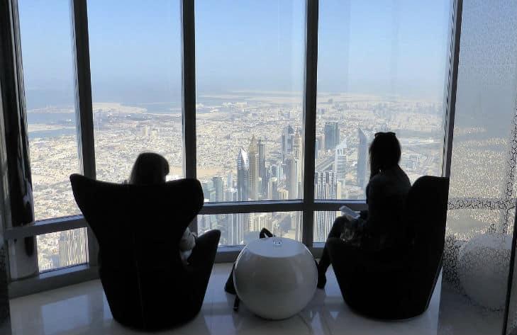 utsikt från världens högsta byggnad