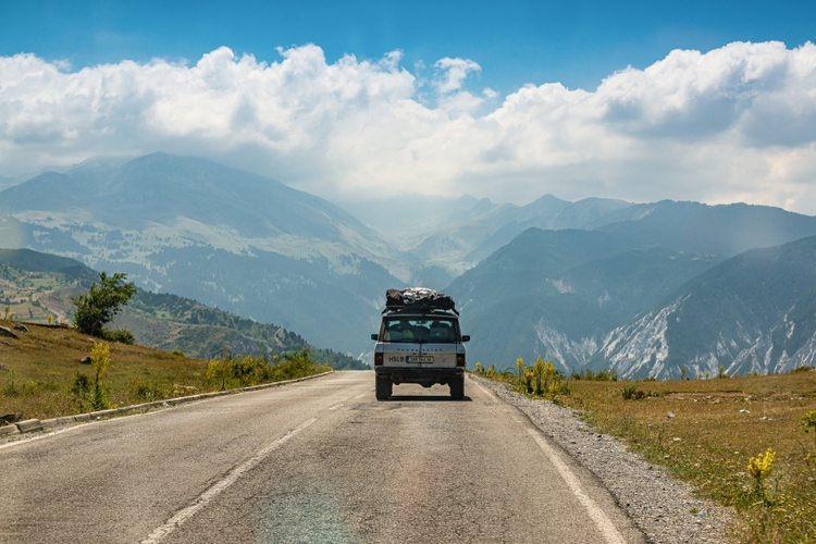 Driving in Albania