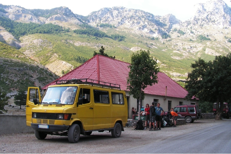 How to get around in Albania