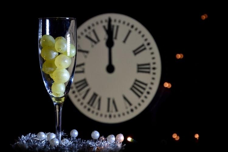 Spansk tradition på nyår