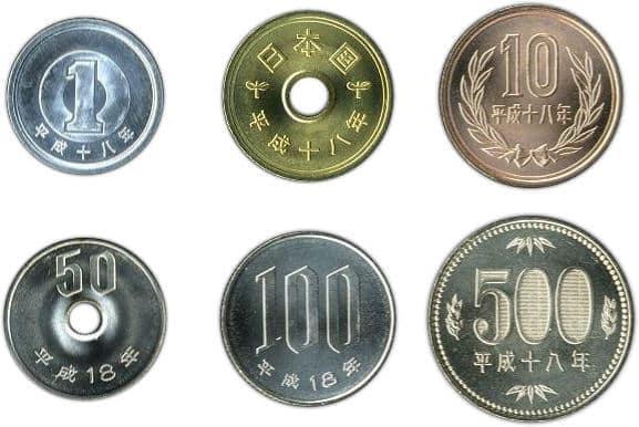 japanska mynt