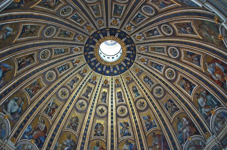 kupol peterskyrkan