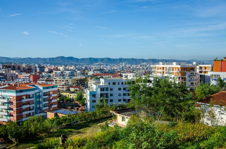 tirana - albaniens huvudstad