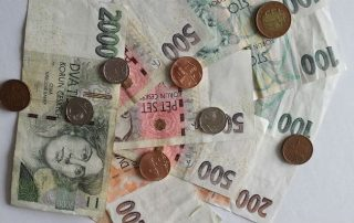 Moneda en la republica checa(CZK)