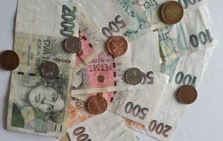 valuta tjeckien