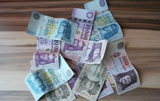 Currency in Hungary