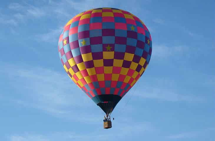 hot air balloon - french invention