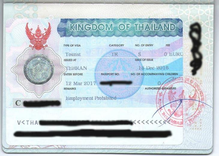 Visum Thailand - Allt du behöver veta + hur man ansöker