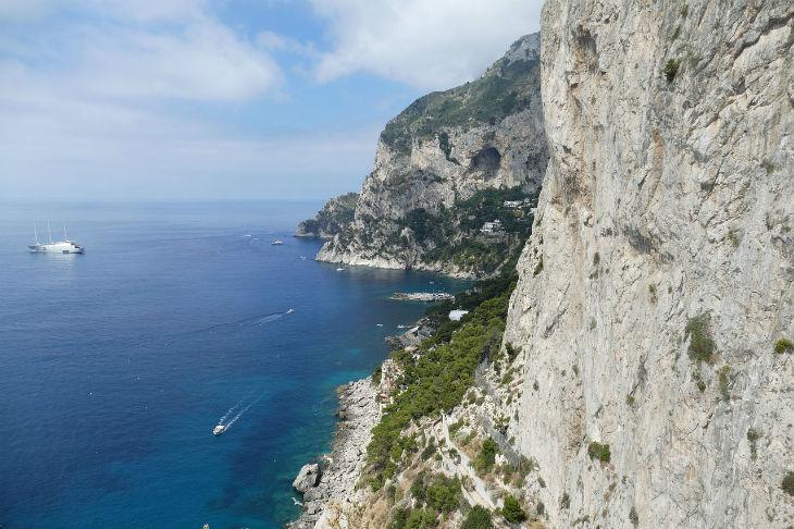 capri - dagsutflykt amalfi
