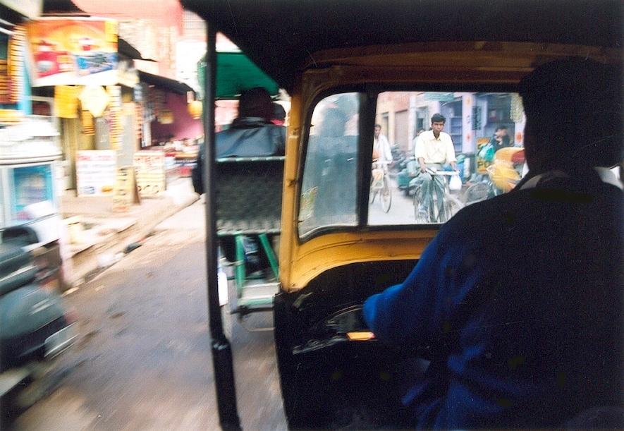 rickshaw agra