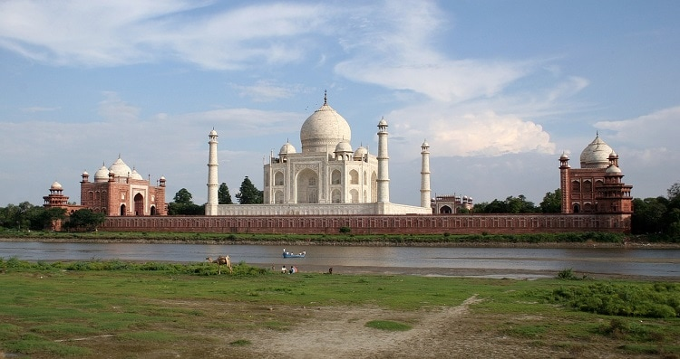 Taj Mahal from the other side