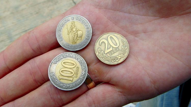 Albanian coins