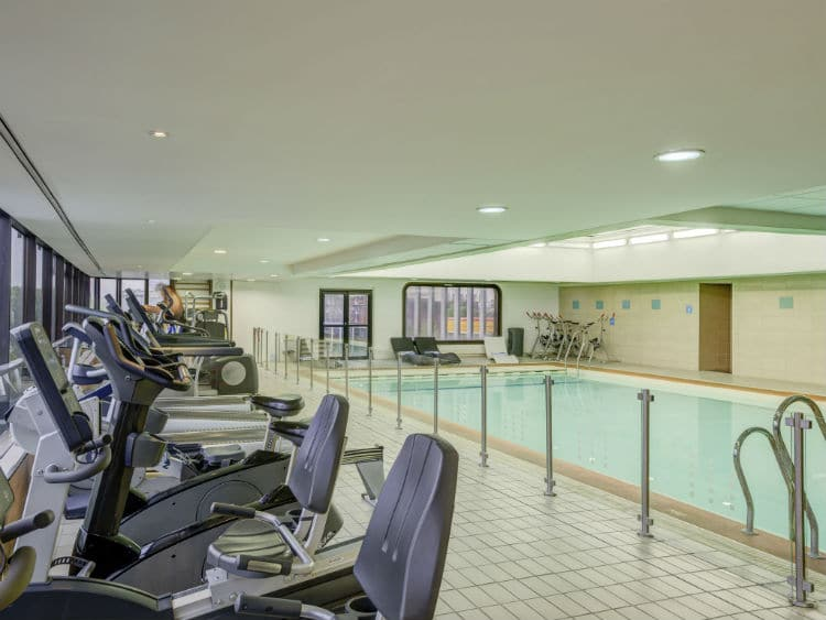 gym and spa novotel