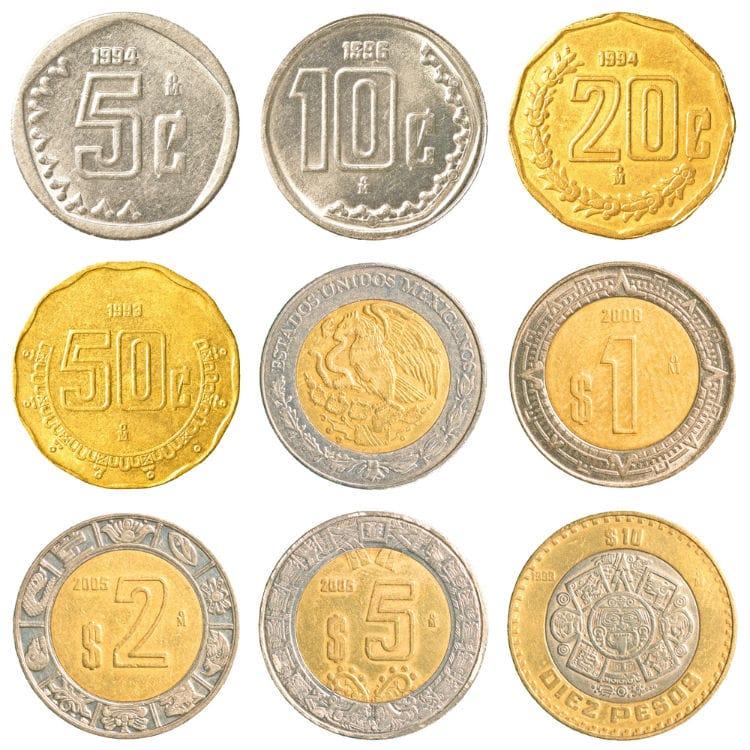 mexikanska mynt