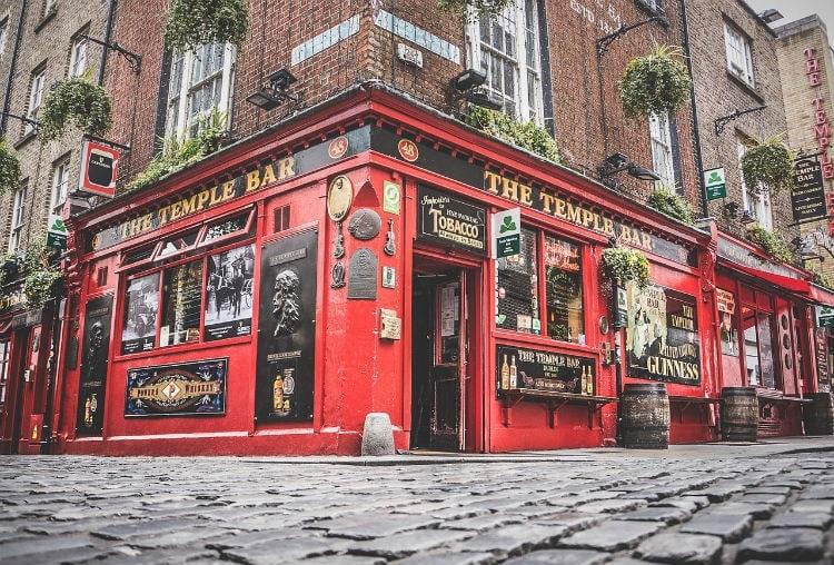 Irish pub - visit Ireland