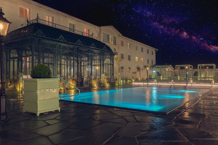 lyxigt spa hotell i sverige
