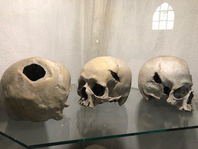 Warrior Skulls Sedlec Ossuary
