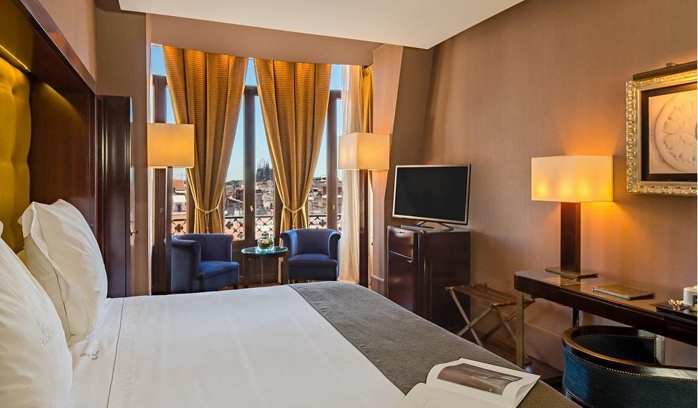 Casa Fuster Hotel bedroom