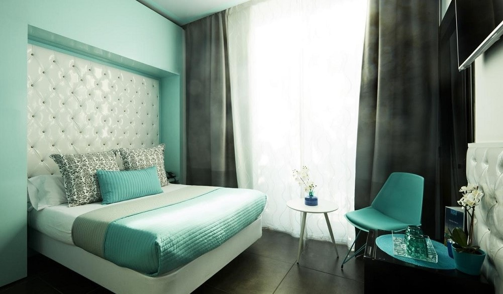 Hotel 54 Barceloneta bedroom