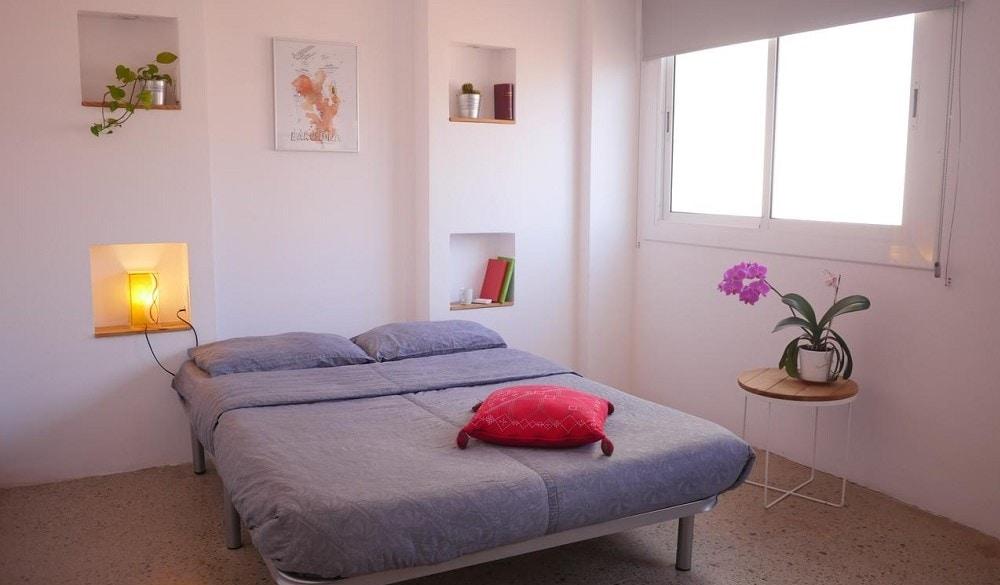 Jam Hostel Barcelona bedroom