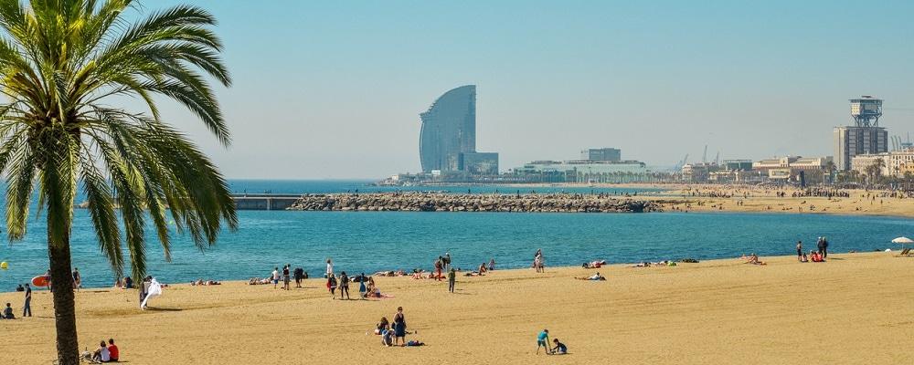 Barceloneta Beach and Hotel Vela